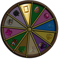 The weekly prize at the magical Wheel of Fortune